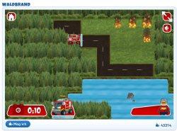 Online-Spiel-Lego-Waldbrand