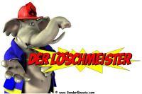 Feuerwehr Cartoon DER L�SCHMEISTER